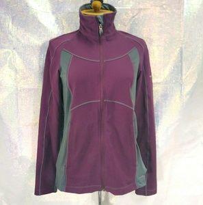 Columbia Titanium Omni-Dry plum/gray jacket
